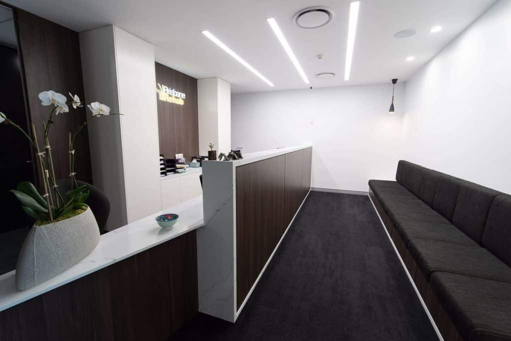 Classic look for rehabilitation clinic fitout