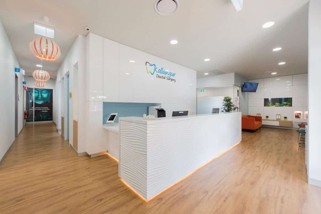 Kallangur_dental_reception