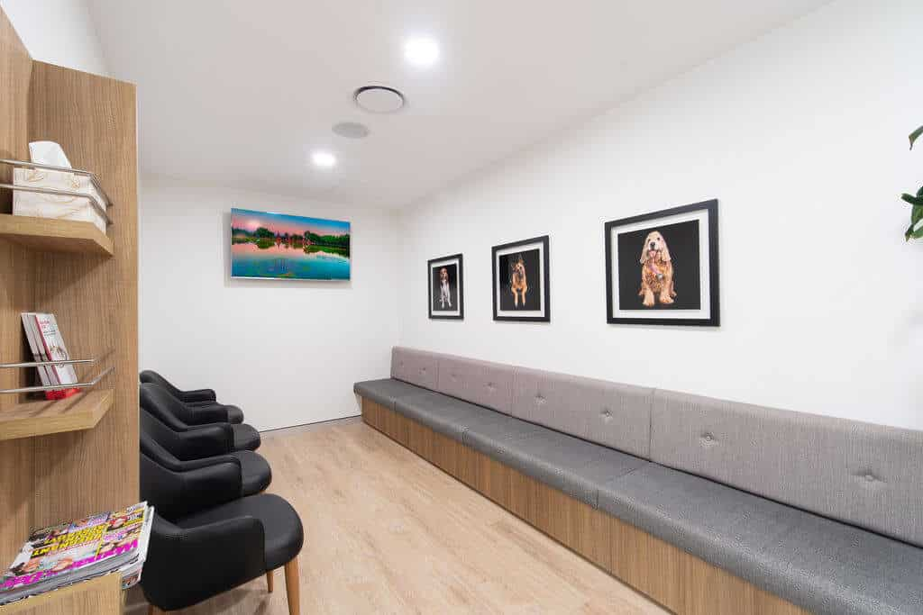 Miles Nephrology specialist fitout - waiting room