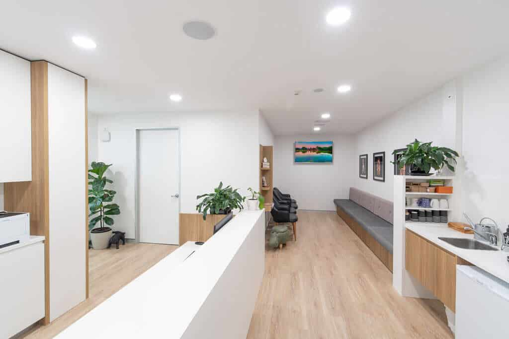 Specialist design trends - nature-inspired design for Mowat specialist clinic