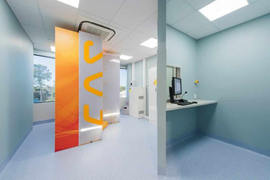 SCR radiology fitout