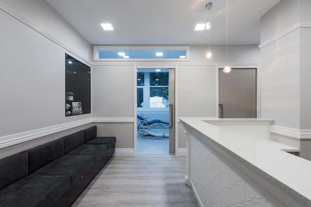 Dr John Howard Dental fitout in heritage listed Brisbane CBD building