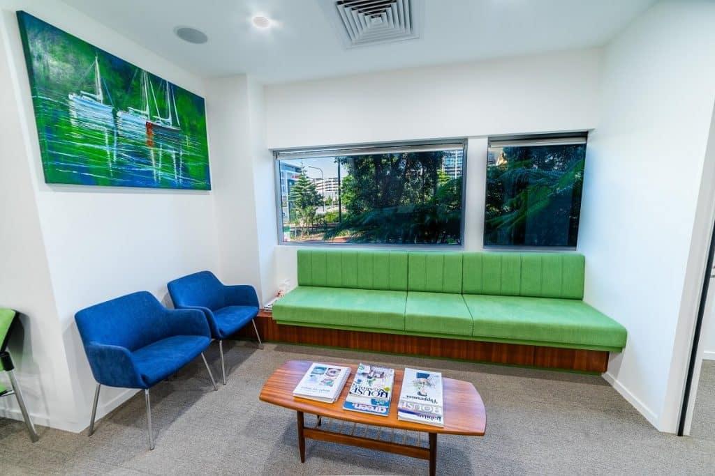 Dr Askew Specialist Suite fitout - waiting area