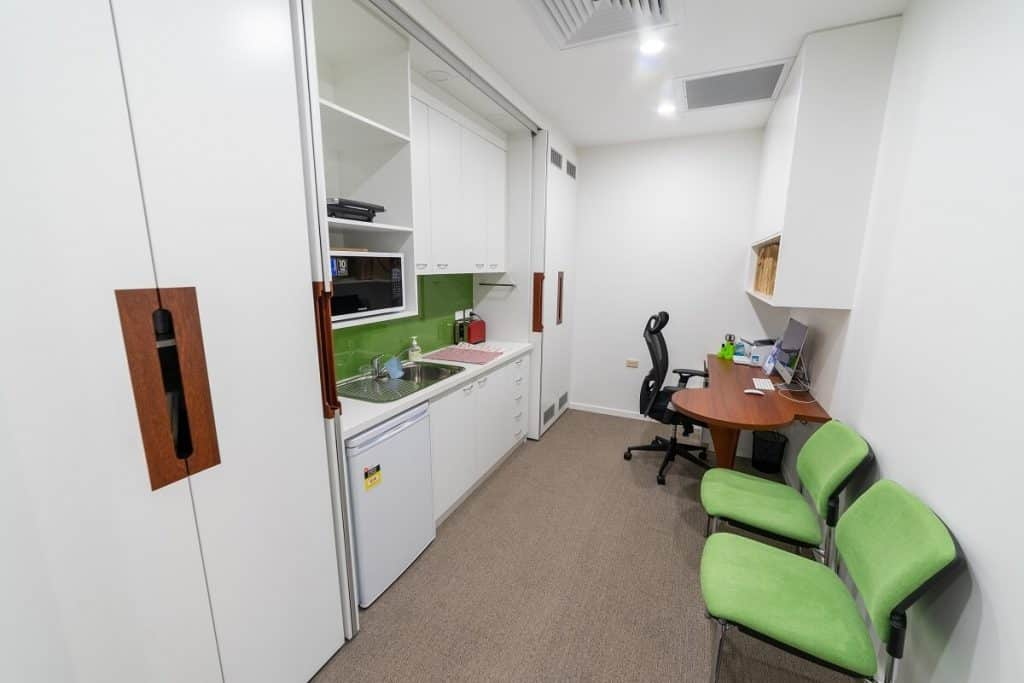 Dr Askew Specialist Suite - Co-located office & kitchenette