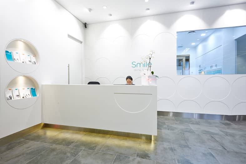 Smile Dental Clinic fitout