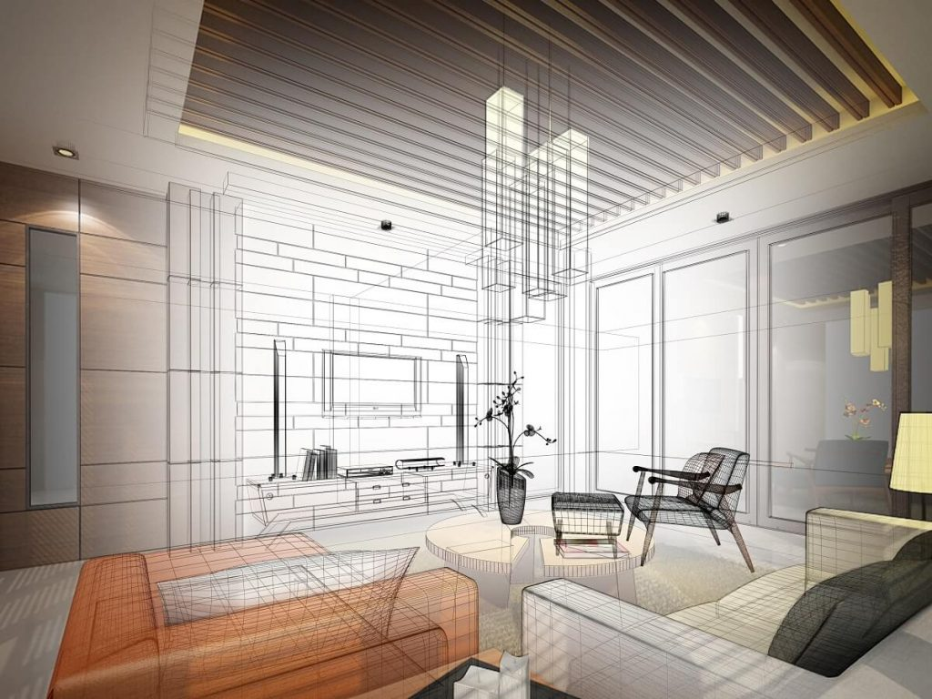 Fitout render