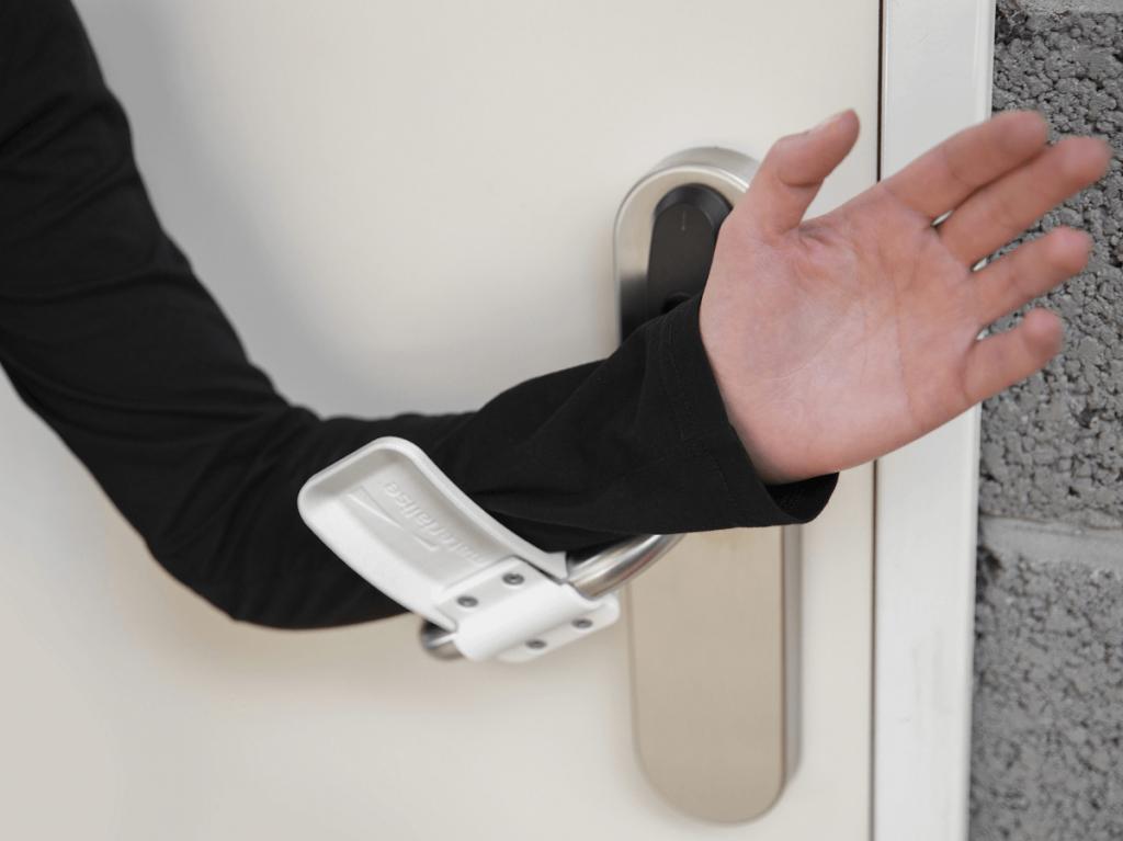 Hands-free door opener