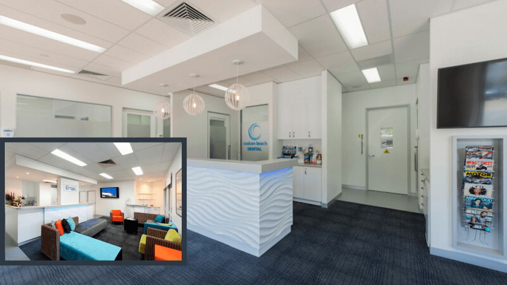 Coolum Beach Dental clinic fitout