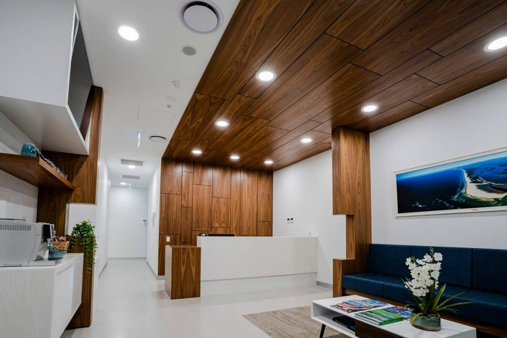 modern and stylish dental clinic design