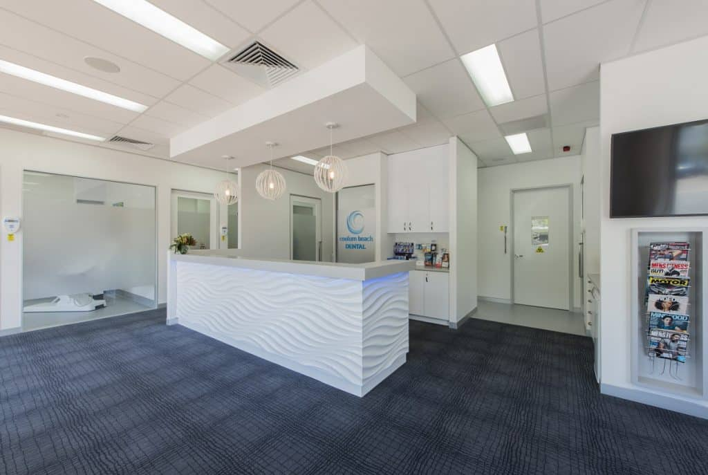 Coastal-style dental clinic