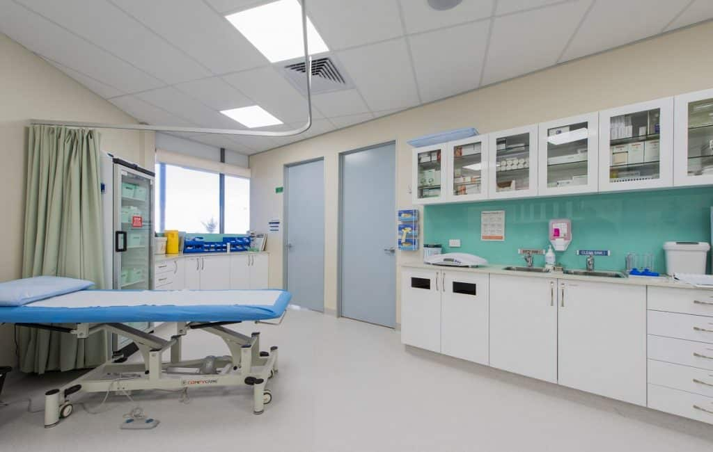 Haan Health Medical Centre combined treatment and sterilisation area