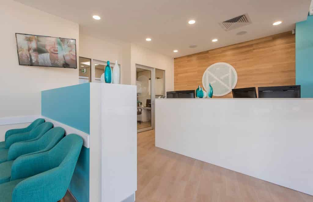 Colour layering design trend in a medical practice