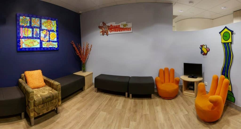 Inter-generational dental practice design - kids waiting room