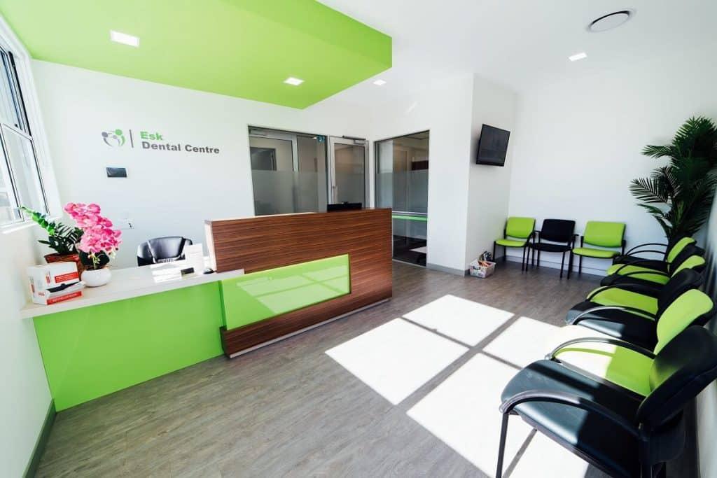 Colourful dental clinic design