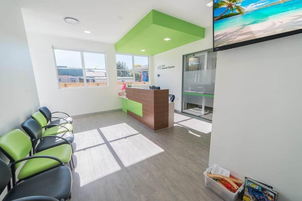 Esk Dental reception