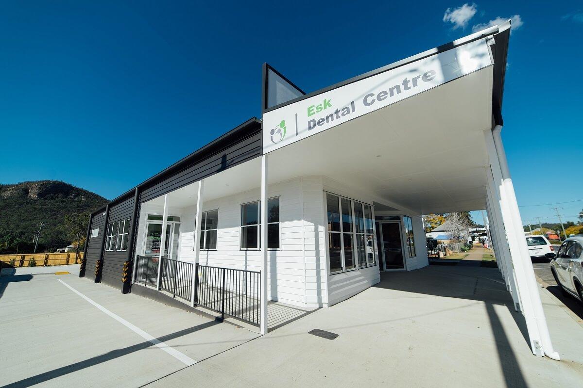 Esk Dental building project
