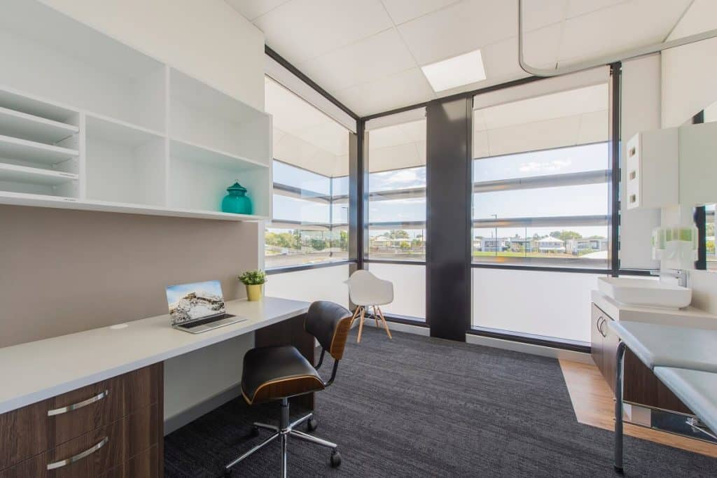 medical practice fitout tips - plenty of natural light