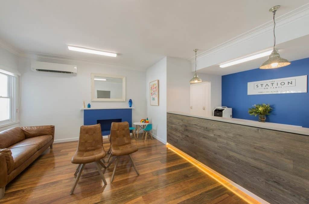 Station on Tanti medical centre fitout