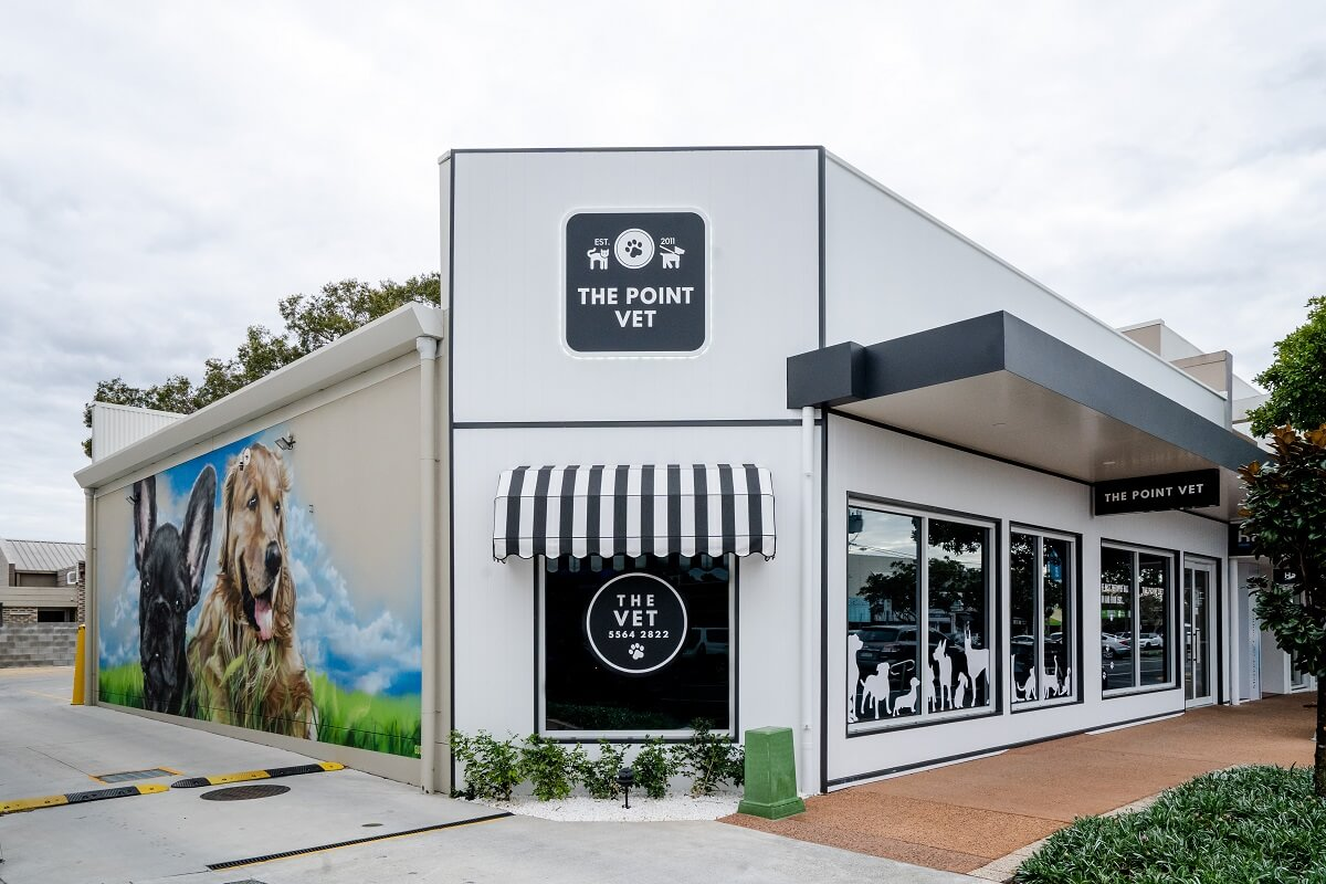 The Point Vet fitout