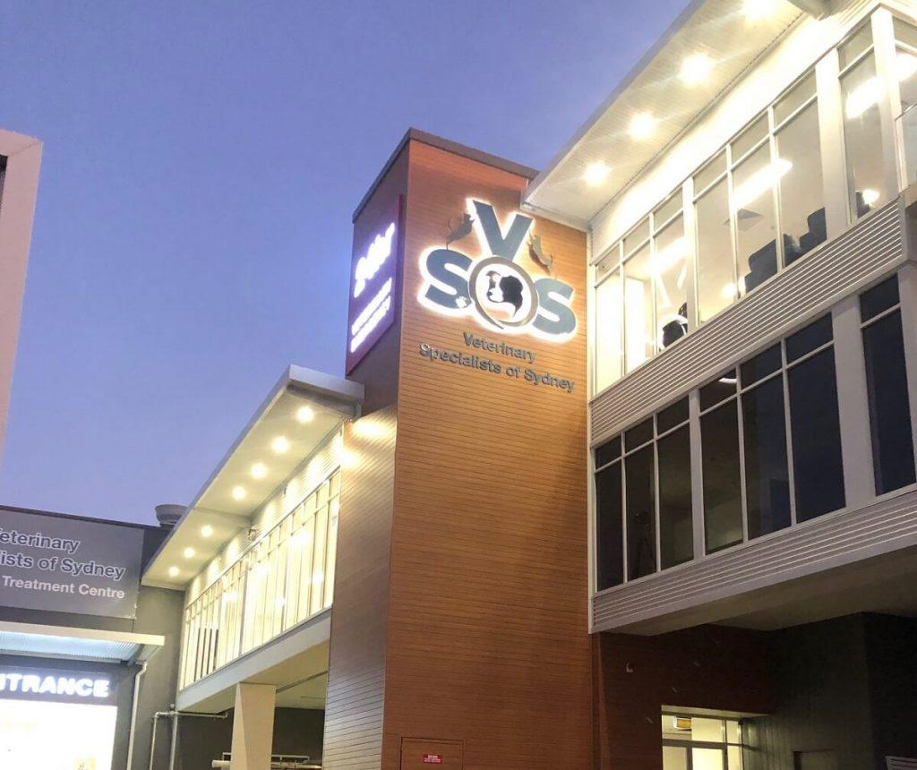 Veterinary Specialist Hospital Fitout - exterior