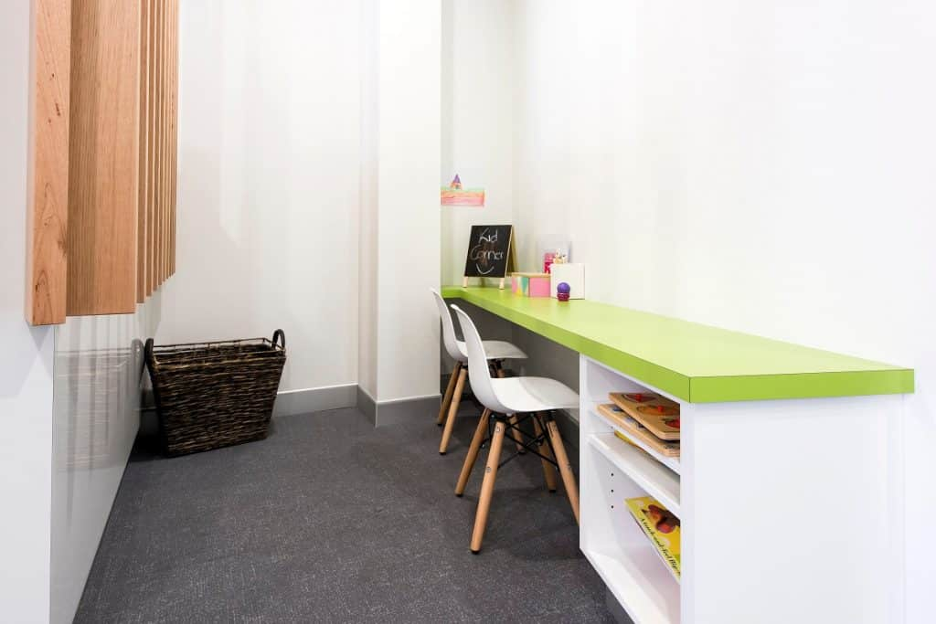 Grow Medical fitout - kids area