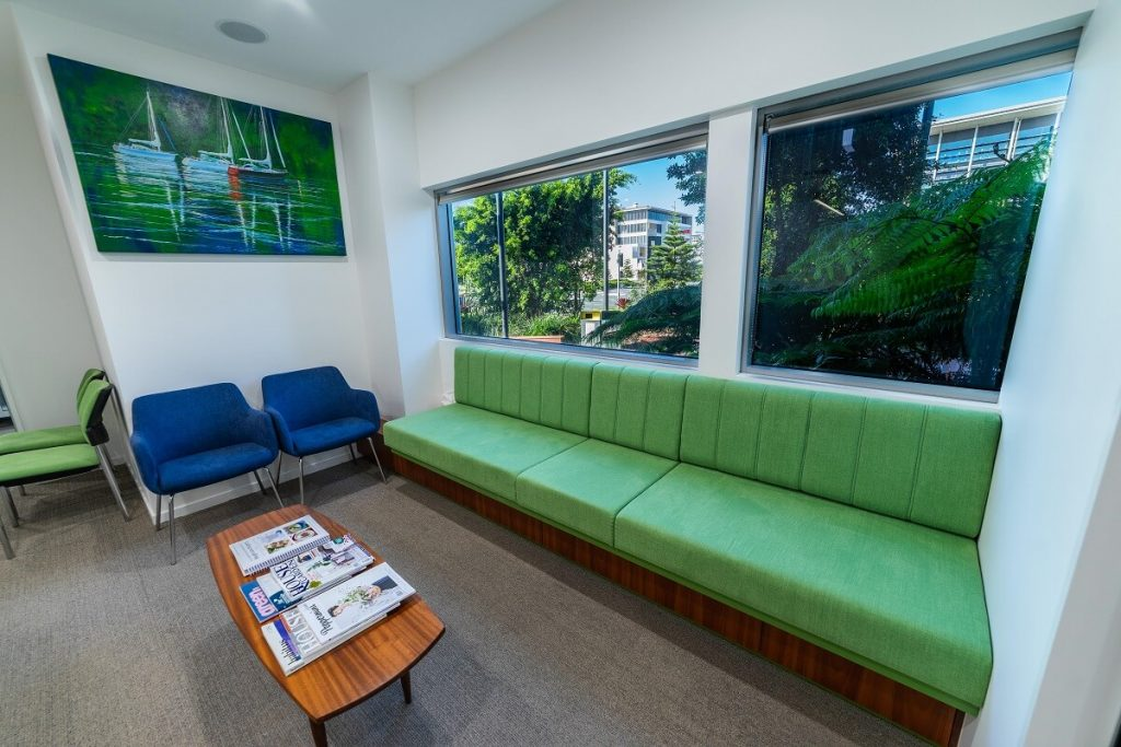 Optimising Your Healthcare Practice with artwork and greenery