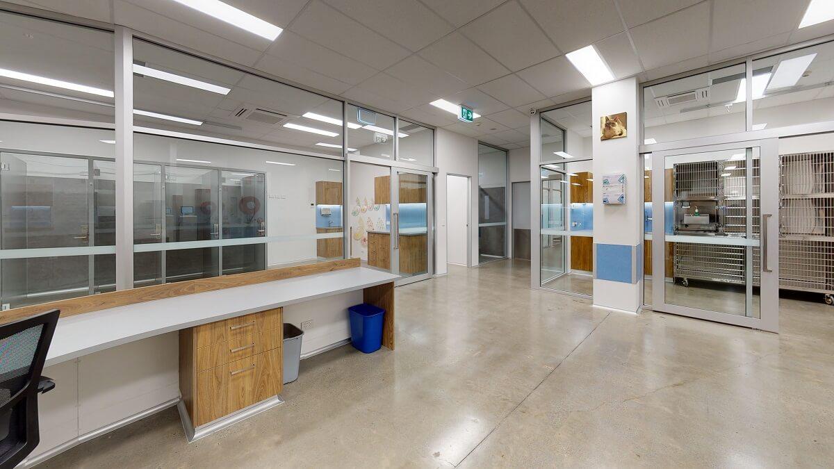 Vet practice treatment room design
