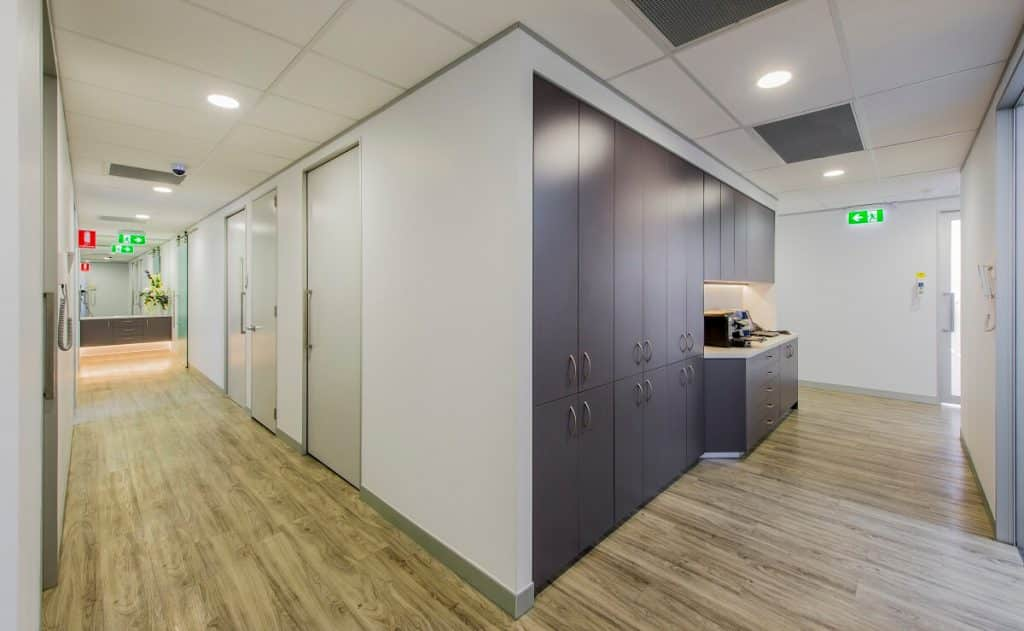 Larger dental clinic layout design