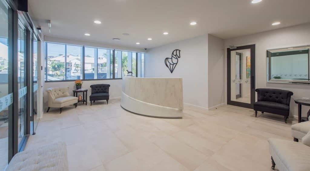 Dental clinic luxe interior design style
