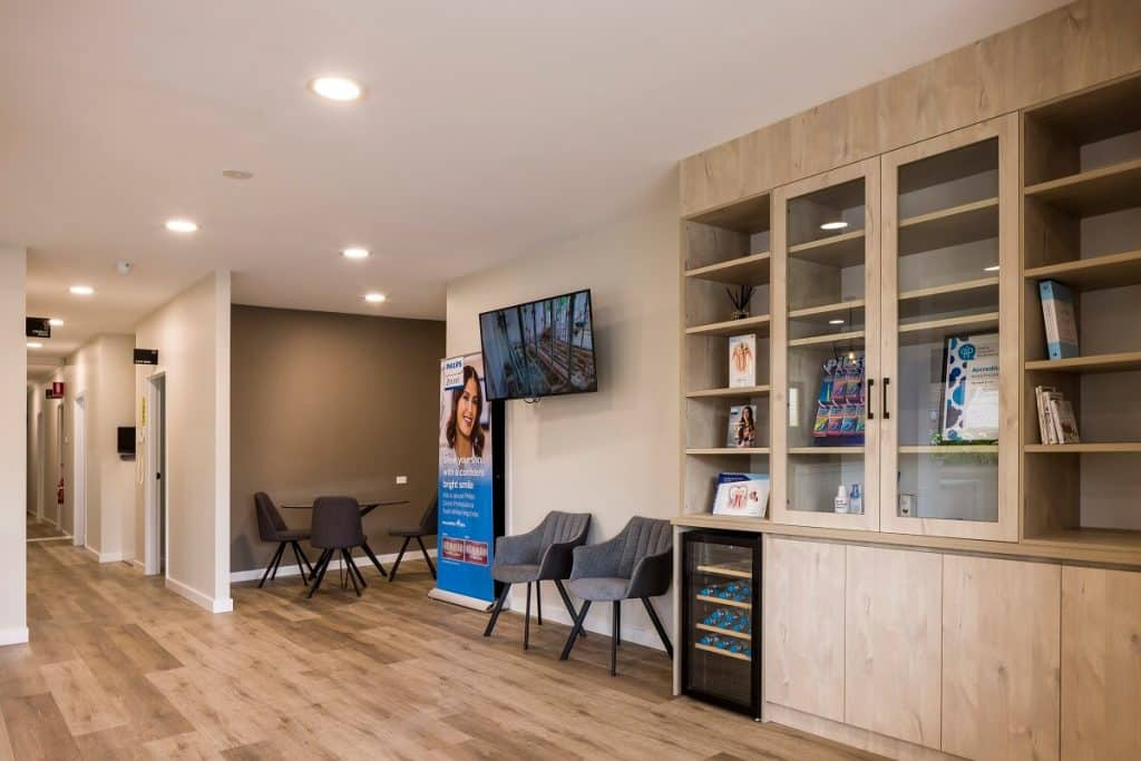 Sherwood Smiles dental clinic fitout