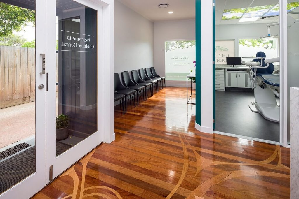 Brisbane Dental clinic conversion - reception