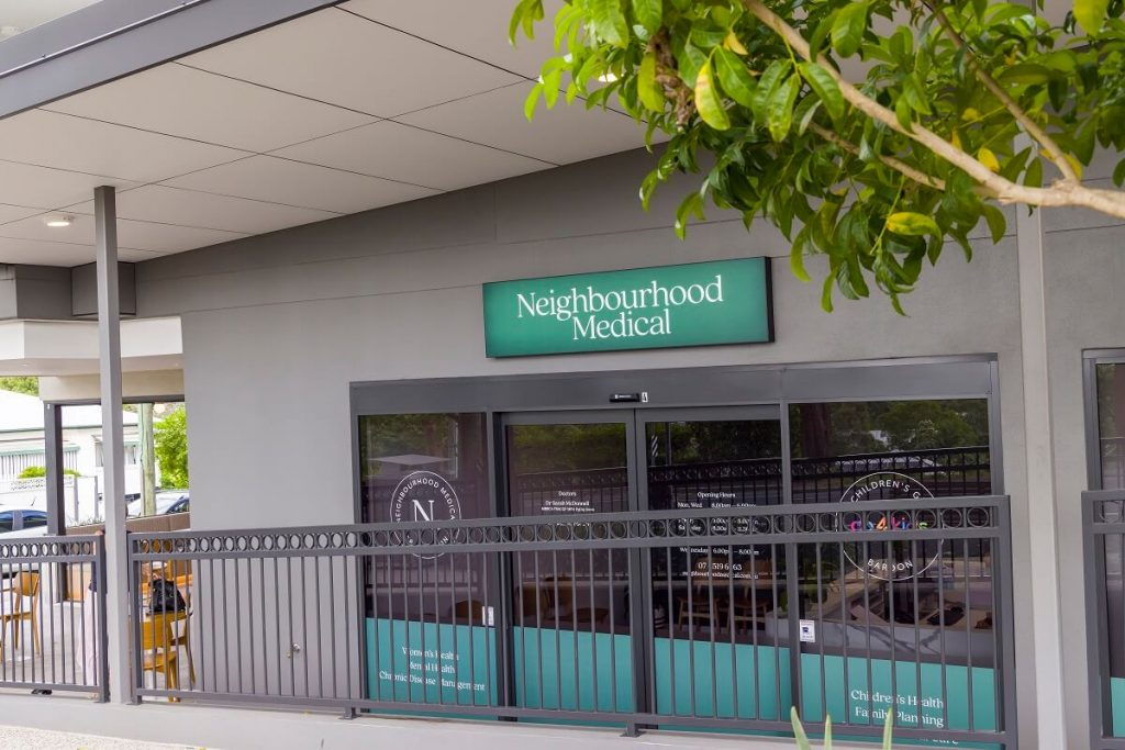 Medical practice fitout in inner-west Brisbane