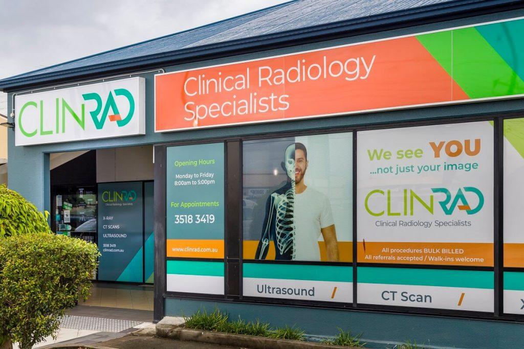 ClinRad radiology fitout - exterior