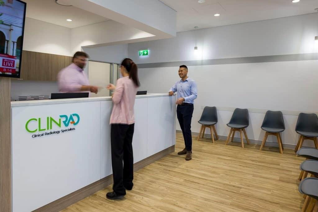 ClinRad radiology fitout in Brisbane