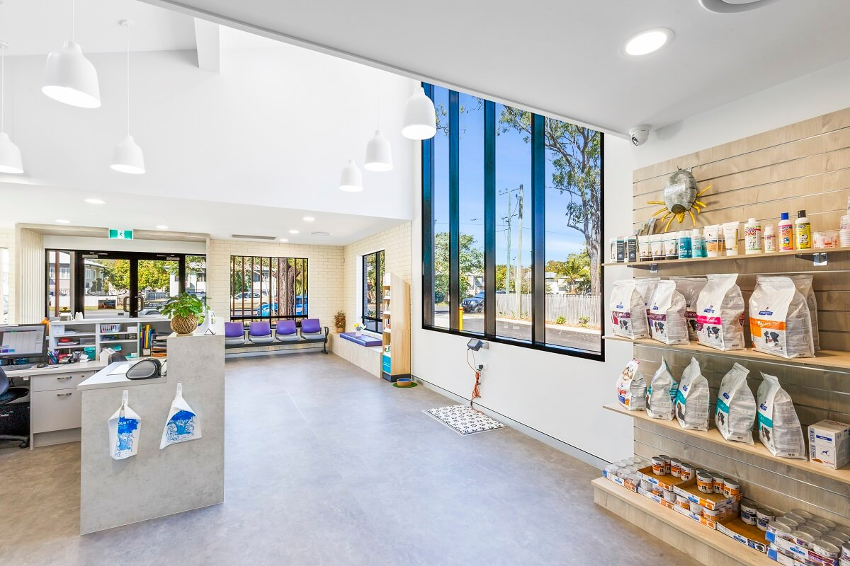 Glass is a design feature in this healthcare practice fitout