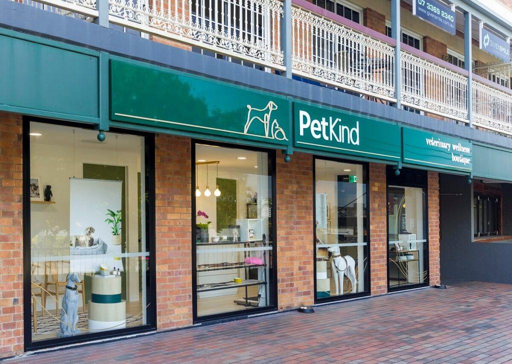 Boutique vet clinic exterior