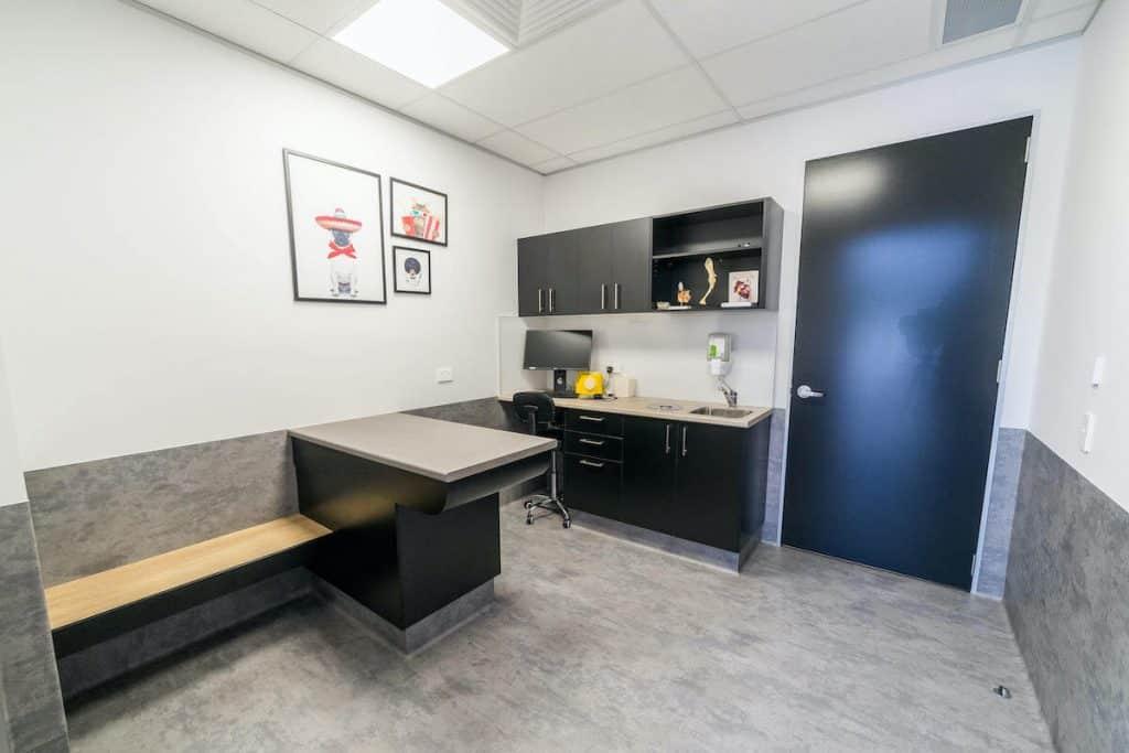 Vet consult room storage
