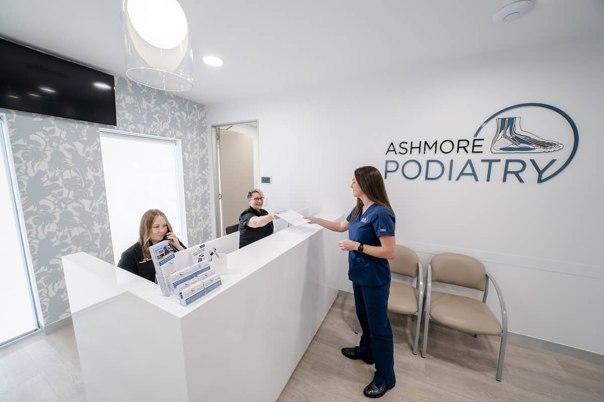 Ashmore Podiatry clinic fitout